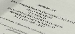 Jednak jest możliwość dofinansowania dla małych firm z małopolski – termin składania wniosków 02.12.2013-02.01.2014 ZAPRASZAMY