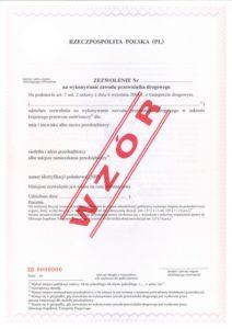 Mniej Licencji w Transporcie Drogowym.