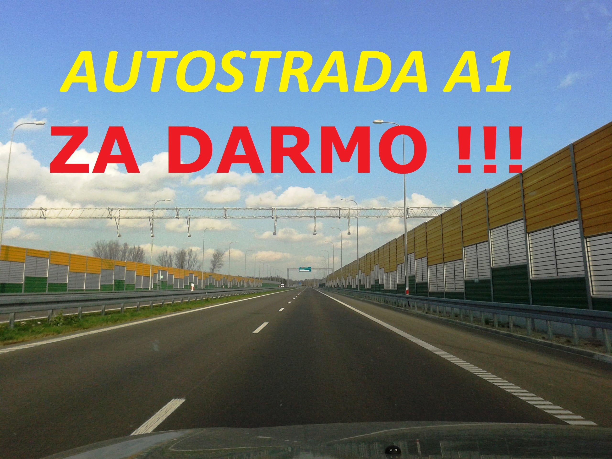 Autostrady będą za darmo !!! – Premier