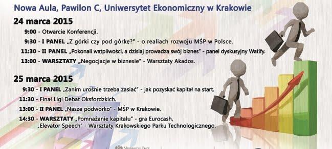 """Konferencja """"Sprintem czy Marszem – czyli o rozwoju Małych i Średnich Przedsiębiorstw w Polsce"""" – podsumowanie"""