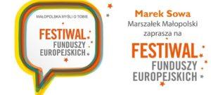 """""""Małopolska myśli o Tobie. Festiwal Funduszy Europejskich"""" już w niedzielę w Tarnowie"""