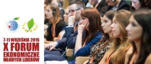 Ruszyła rekrutacja na X Forum Ekonomiczne Młodych Liderów w Nowym Sączu
