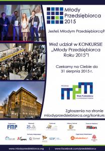 Rusza Konkurs Młody Przedsiębiorca Roku 2015!