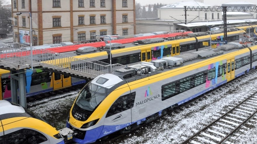 Nowe Impulsy pierwszy raz na małopolskich torach