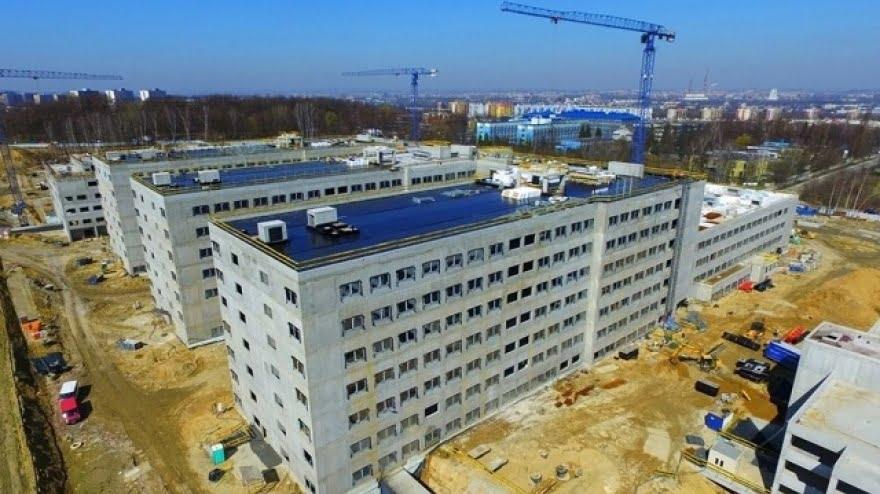 Szpital Uniwersytecki rośnie