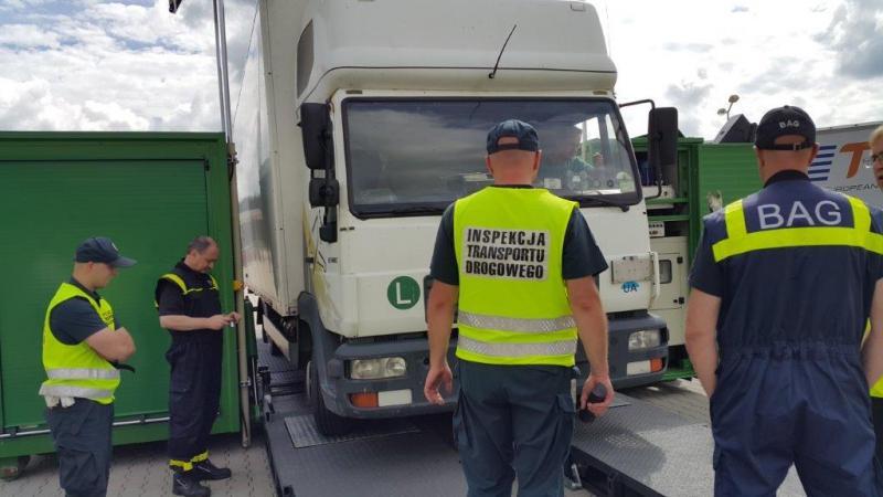 Ujednolicenie systemu kontroli kierowców w Europie