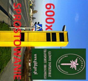 GITD – Główny Inspektorat Transportu Drogowego 600 Fotoradarów – Sprostowanie