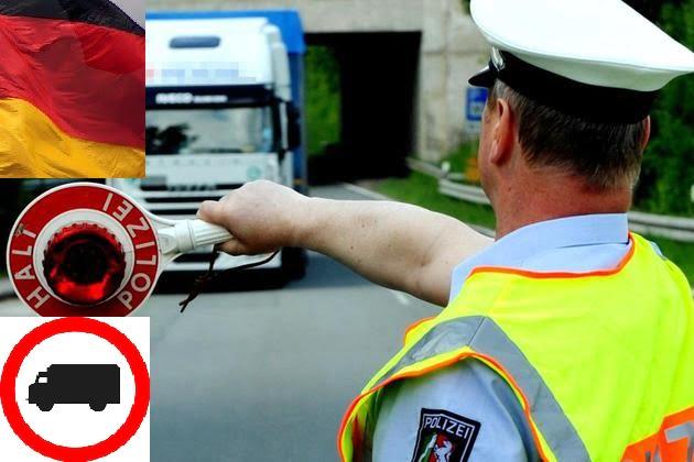 3 października 2017 roku: zakazy ruchu samochodów ciężarowych w Niemczech i w Austrii
