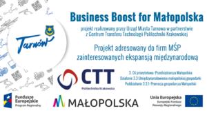 Business Boost for Małopolska na półmetku