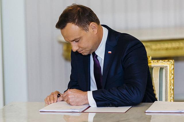 Prezydent RP podpisał ustawę ws. dróg o znaczeniu obronnym