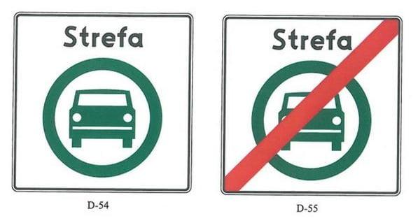 STREFA CZYSTEGO TRANSPORTU – Nowe znaki
