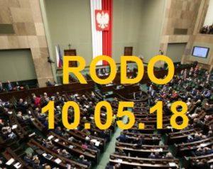 RODO – Sejm uchwalił ustawę o ochronie danych osobowych