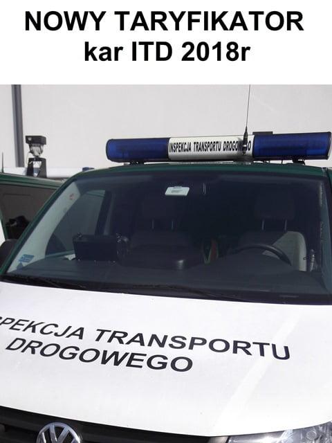 TARYFIKATOR – Nowe kary dla Transportu. Pobierz Darmowy Taryfikator.