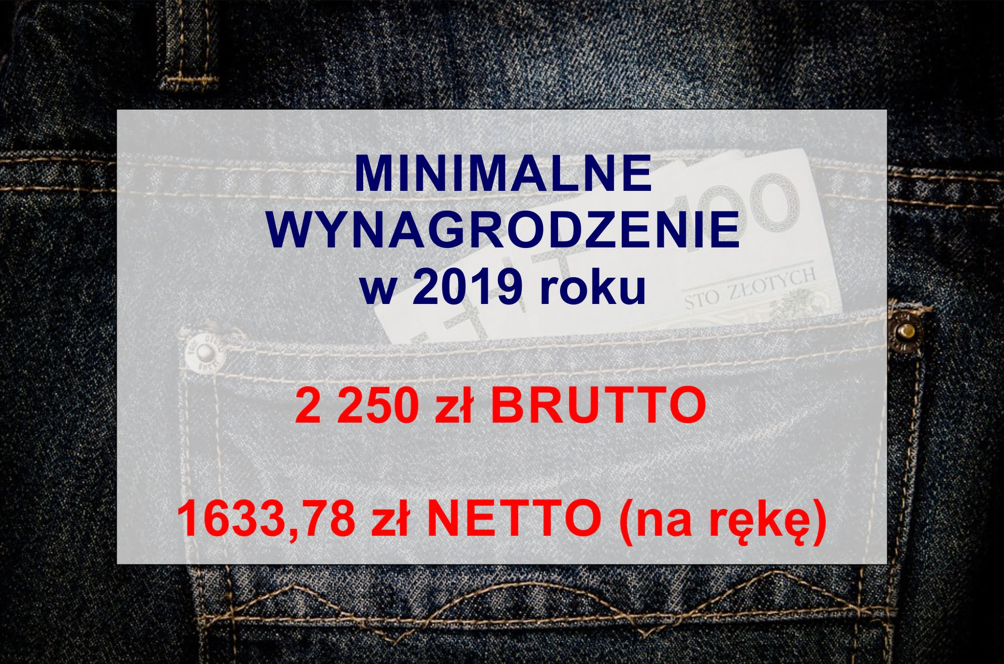 Minimalne wynagrodzenie 2019 – koszty pracodawcy