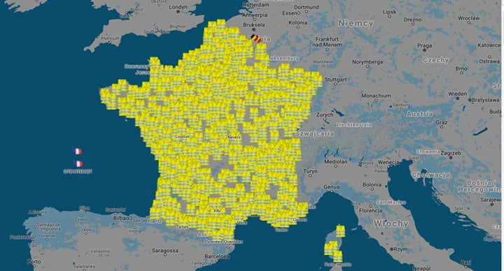 """Francja: Trwa protest """"żółtych kamizelek"""""""