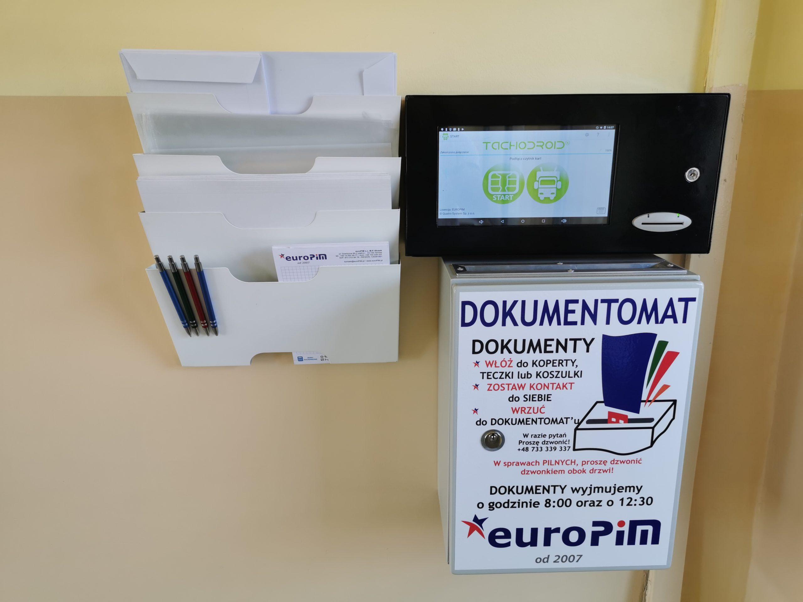 DOKUMENTOMAT – nowa organizacja pracy – euroPiM