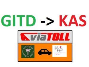 VIATOLL – GITD zmiana na KAS od 1 lipca 2020r