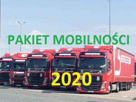 PAKIET MOBILNOŚCI 2020 – Zmiany w Prawie Transportowym – Co nas czeka ?