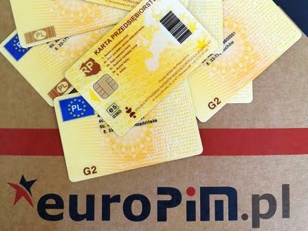 Karta Przedsiębiorstwa Karta Firmowa do Tachografu cyfrowego nowej generacji – G2