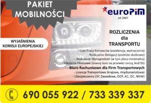 PAKIET MOBILNOŚCI – wyjaśnienia Komisji Europejskiej